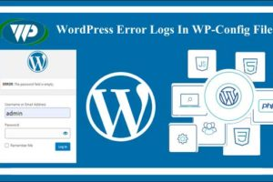 WordPress error log