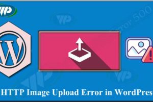 HTTP Image Upload Error in WordPress